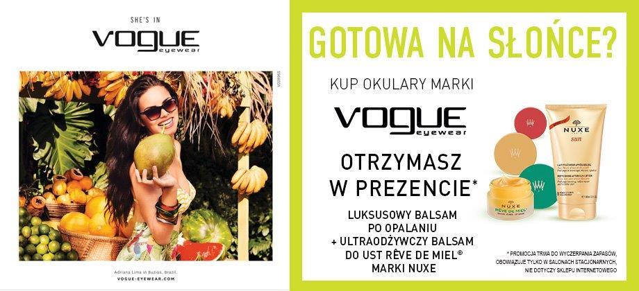 Kosmetyczne GRATISY przy zakupie okularów przeciwsłonecznych @ Soczewki24/Viu Viu Optica