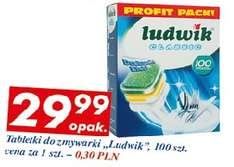 Ludwik 100 tabletek do zmywarki. MADE IN POLSKA @ Auchan
