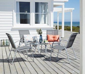 Zestaw mebli ogrodowych: stół + 4 krzesła 495zł taniej @ JYSK