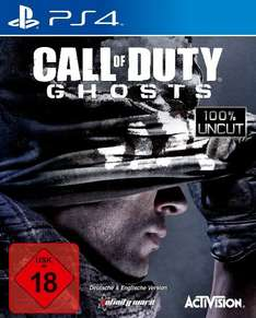 Call of Duty: Ghosts (PS4) za ok. 60zł @ Amazon.de