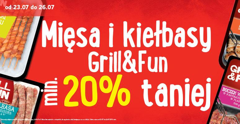 """Mięsa i kiełbasy  """"Grill&Fun"""" taniej o min. 20% @ Lidl"""