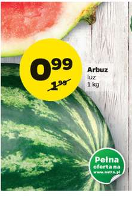 Arbuz 99gr /1kg @ Netto