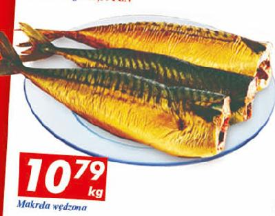 Makrela wędzona w cenie 10,79zł za 1kg @ Auchan