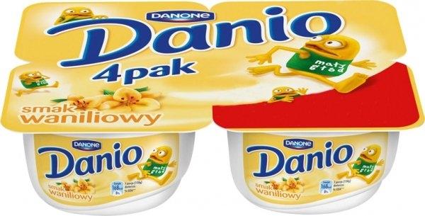 Czteropak Danio w cenie 3,99zł @ Kaufland