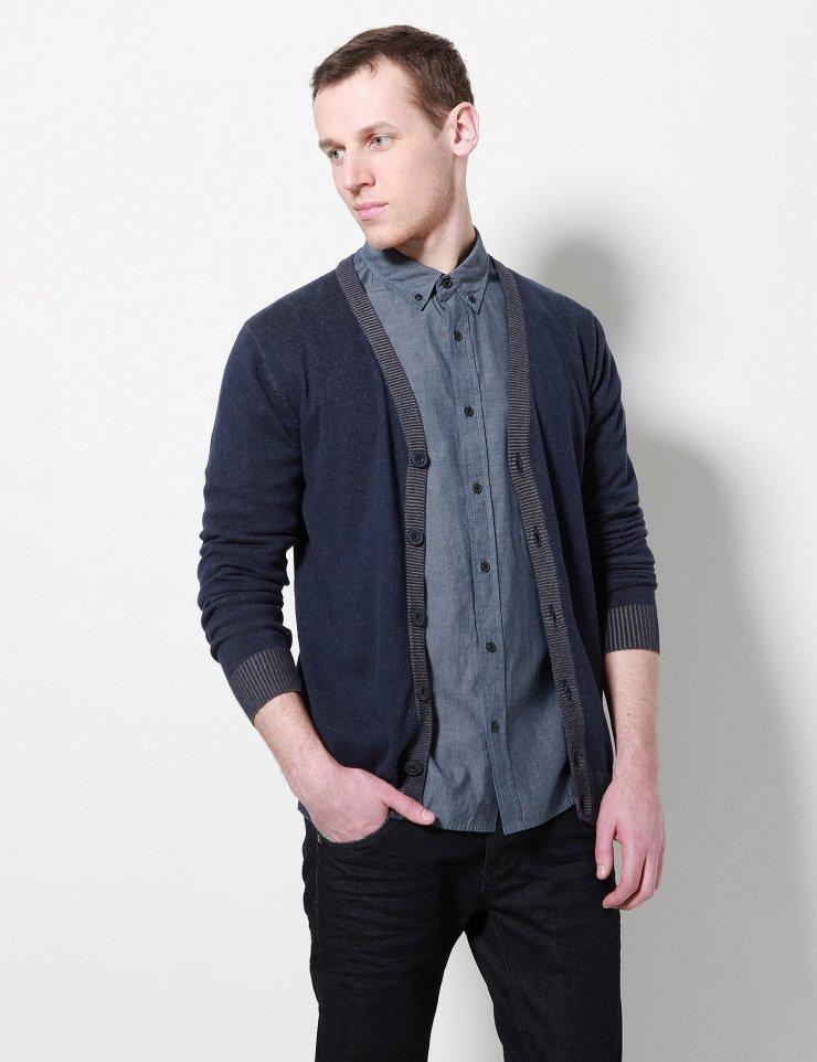 Rozpinany męski sweter w cenie 29,99zł (taniej o 90zł) @ Diverse