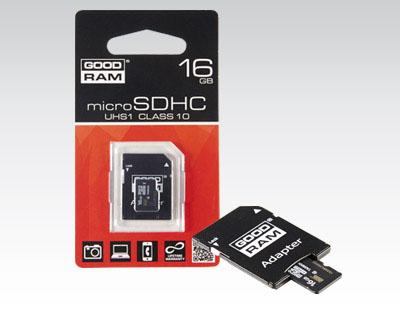 Karta Micro SD 16 GB z adapterem za 24,99zł @ Biedronka