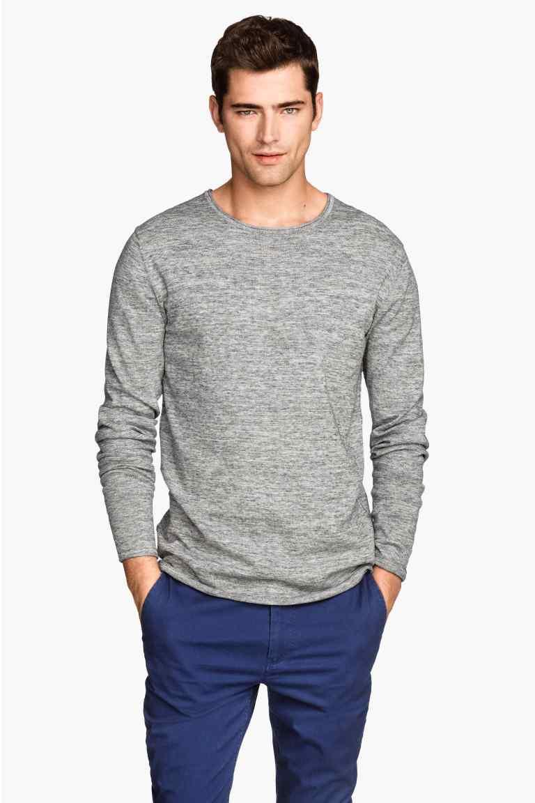 Cienki sweter męski za 27zł + darmowa dostawa @ H&M