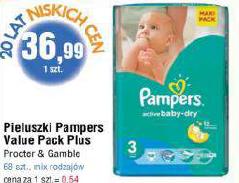 Pieluszki Pampers Maxi Pack za 36,99zł @ E.Leclerc