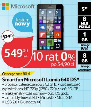 Microsoft Lumia 640 Dual Sim w Tesco