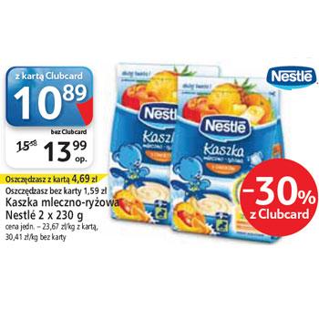 Kaszka mleczno-ryżowa Nestle 2szt. do -30% @ Tesco