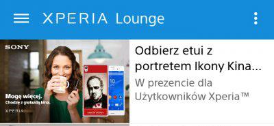 DARMOWE etui dla posiadaczy smartfonów Sony @ Xperia Lounge