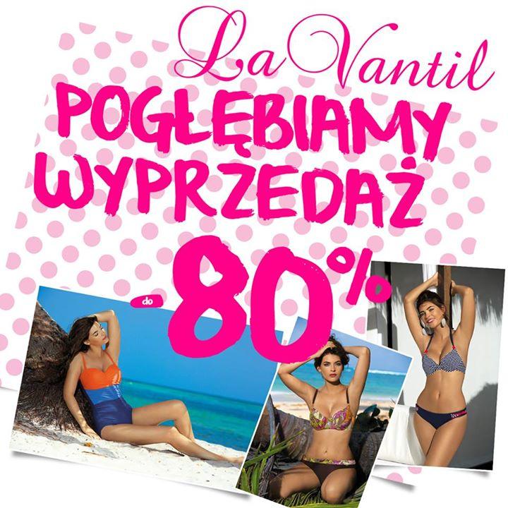 Wybrany asortyment 80% taniej!! @ La Vantil