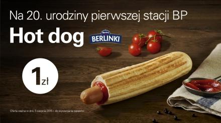 Hot dog za 1zł (tylko dziś)@ BP