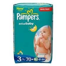 Pieluszki Pampers Maxi Pack za 35,99zł @ POLO market