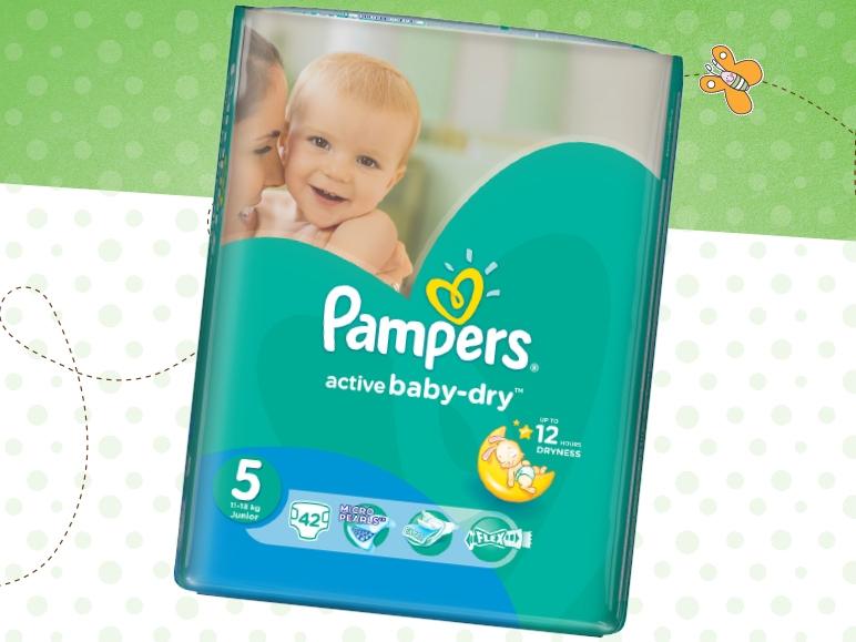 Pieluszki Pampers Active Baby za 29,99zł @ Lidl