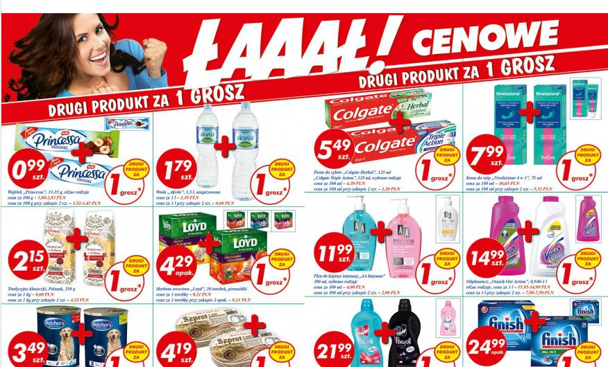 Drugi produkt za 1gr @ Auchan