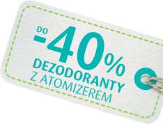 Do -40% na dezodoranty, do -30% na kosmetyki do stóp, drugi lakier GRATIS @ Natura