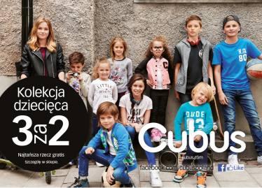 """""""3 w cenie 2"""" na kolekcję dziecięcą @ Cubus"""