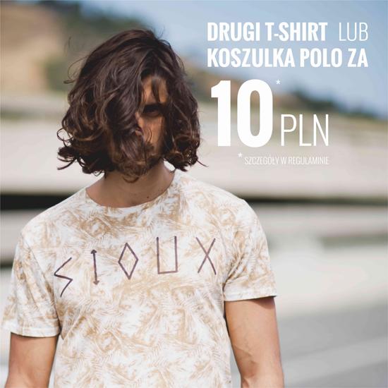Druga koszulka polo/t-shirt za 10zł @ House