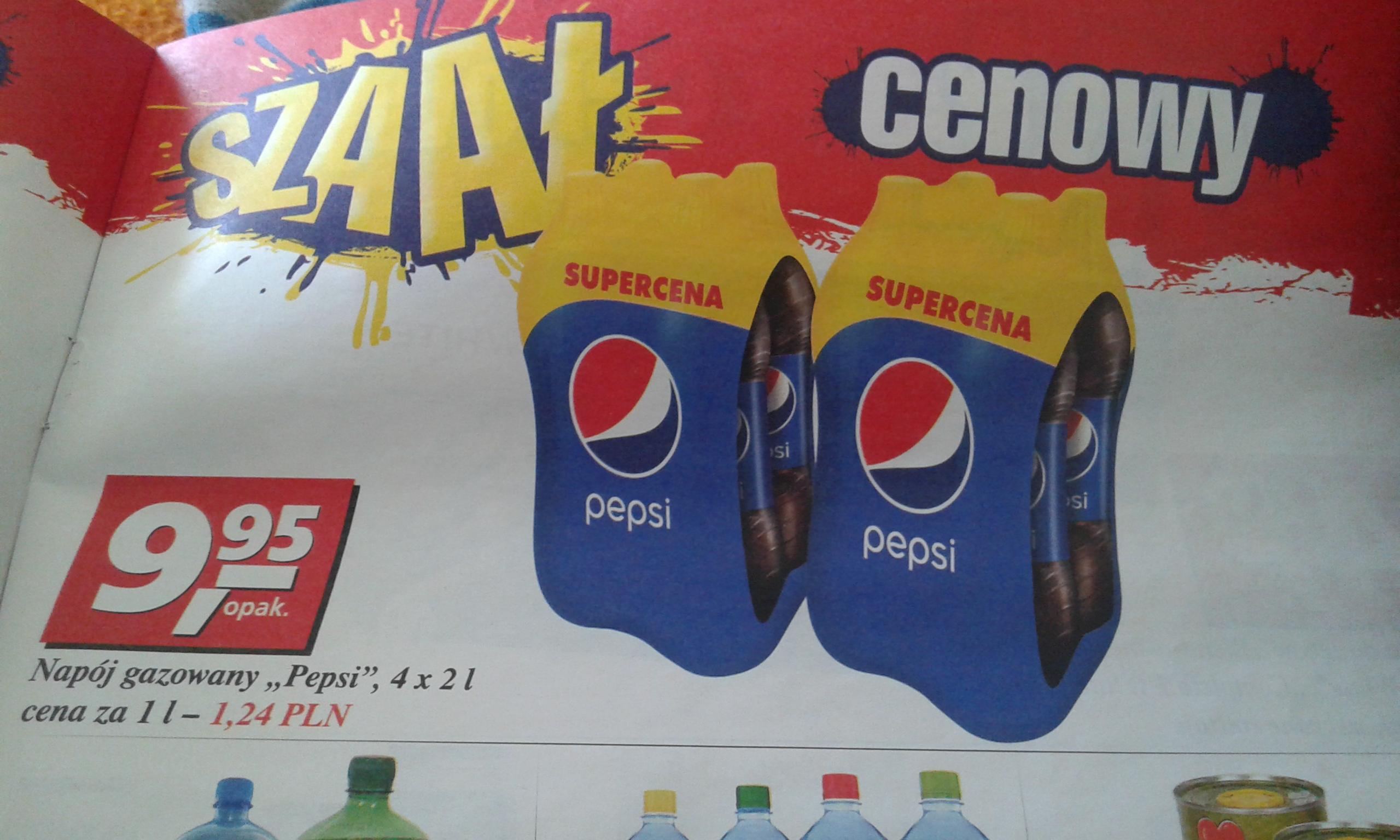Pepsi 4x2l za 9,95zł @ Real