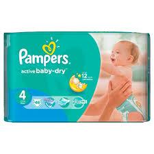 Pieluszki Pampers Active Baby za 33,99zł @ Netto