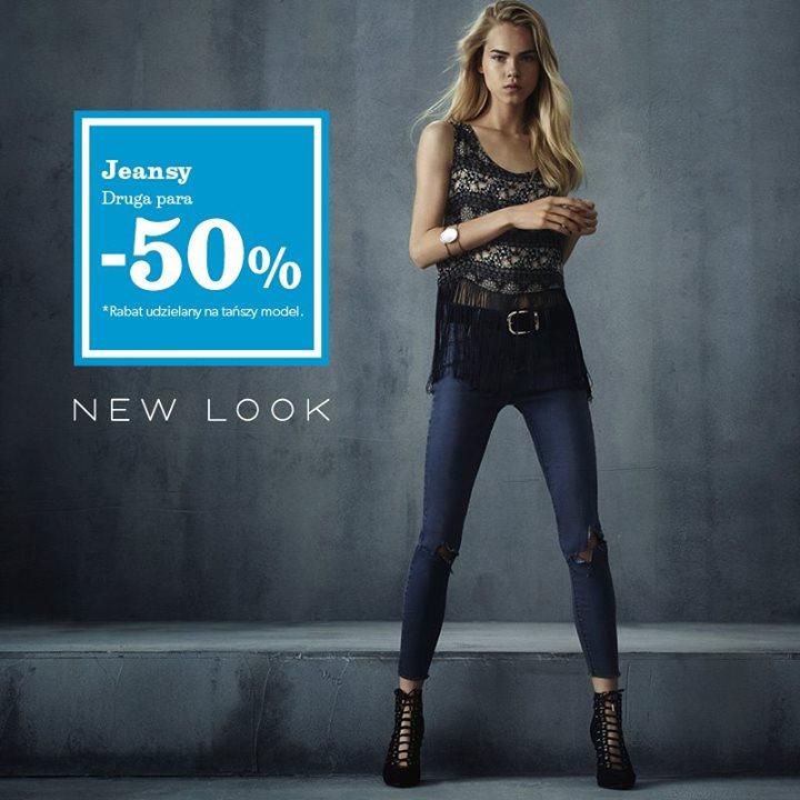 Druga para dżinsów 50% taniej @ New Look