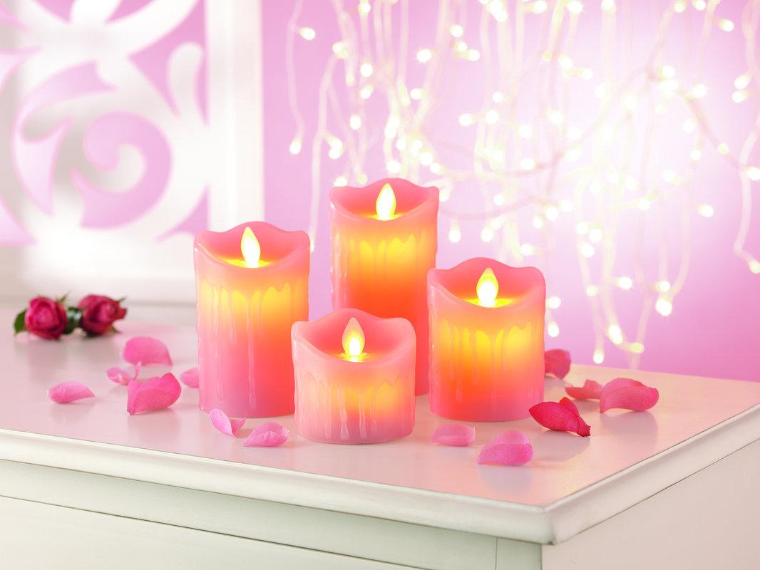 Zestaw zapachowych świec LED (róża) za 48,99zł @ Merlin