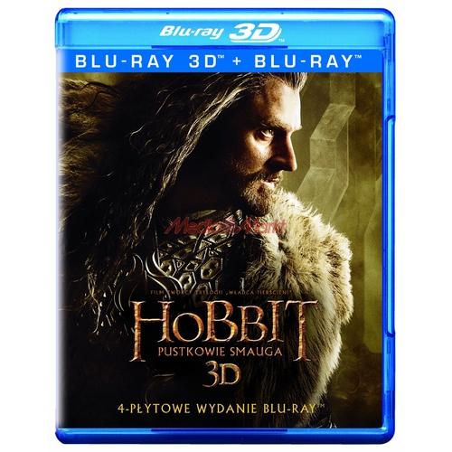 Hobbit: Pustkowie Smauga - edycja specjalna za 49,99zł (Blu-ray 3D) @ Media Markt