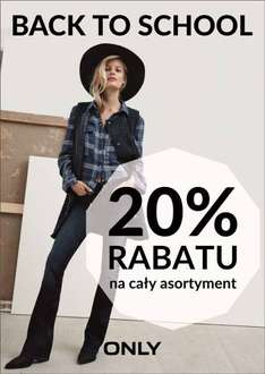 -20% na cały asortyment @ Only