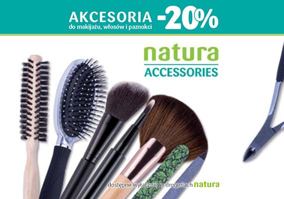 Akcesoria do makijażu, włosów i paznokci taniej o 20% @ Drogerie Natura