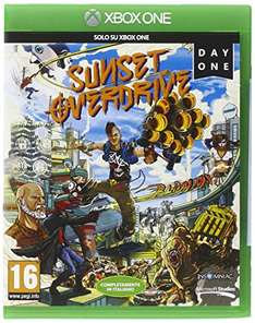 Sunset Overdrive Day One Edition (Xbox One) za około 68zł z dostawą @ Amazon.it