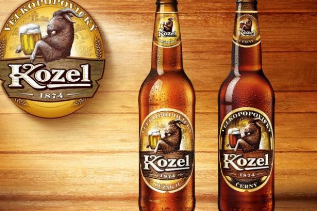 Czeskie piwo butelkowane Kozel ( Černý i Ležák 11) za 2,79zł @ Biedronka