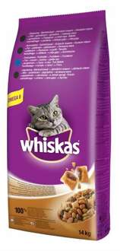 Karma dla kotów Whiskas z tuńczykiem - 14kg za 69zł z dostawą @ Mall