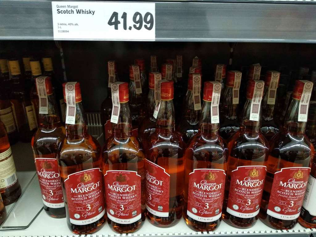Queen margot whisky