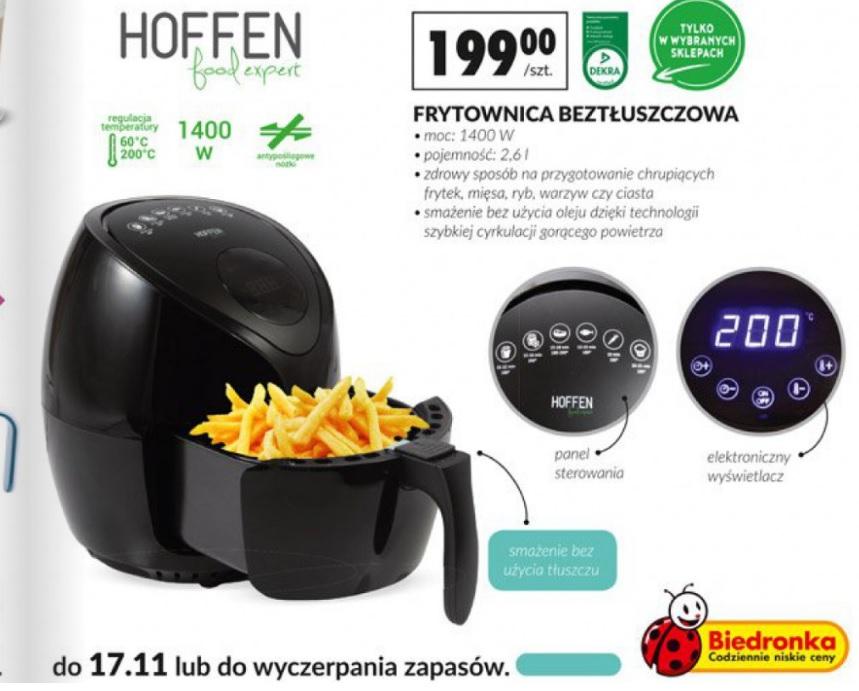Genialny Frytkownica beztłuszczowa w Biedronce - Pepper.pl FP87