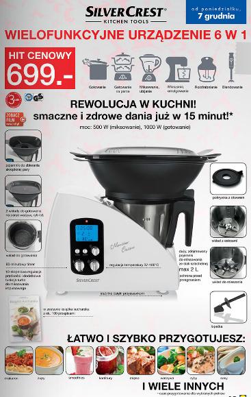 Wielofunkcyjne urz dzenie 6 w 1 lidlowy thermomix za - Robot de cocina silvercrest lidl ...