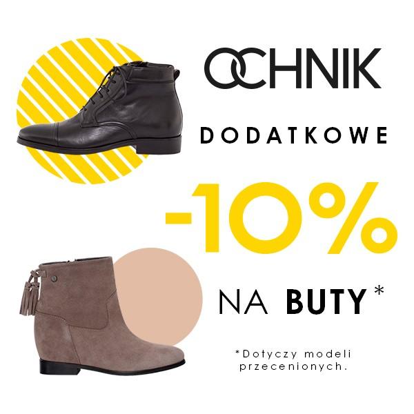 502bb6a4a9b56 Dodatkowe 10% rabatu na przecenione buty   Ochnik - Pepper.pl