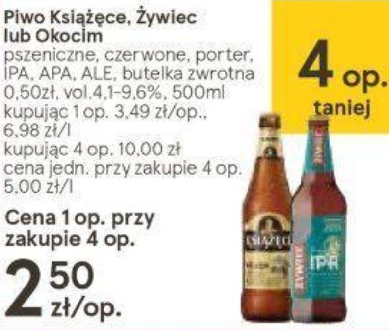 4x Piwo Książęce żywiec Lub Okocim Porter Ipa Apa Ale