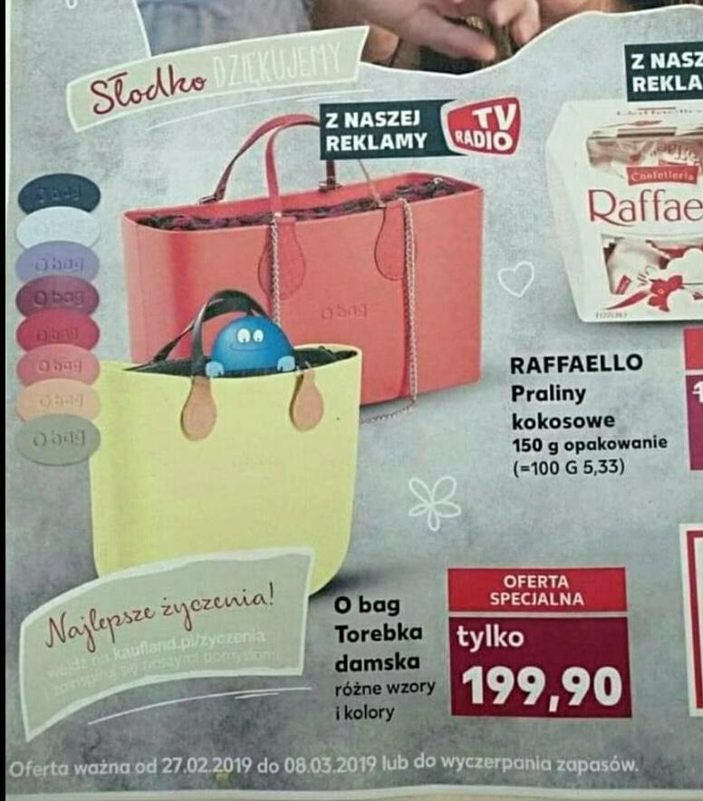 1fa5d1829a66b O BAG torebki Kaufland super cena od 27.02 okazja dla KOBIET - Pepper.pl