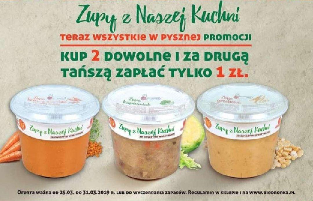Druga Zupa Zupy Z Naszej Kuchni Za 1zł At Biedronka Pepperpl