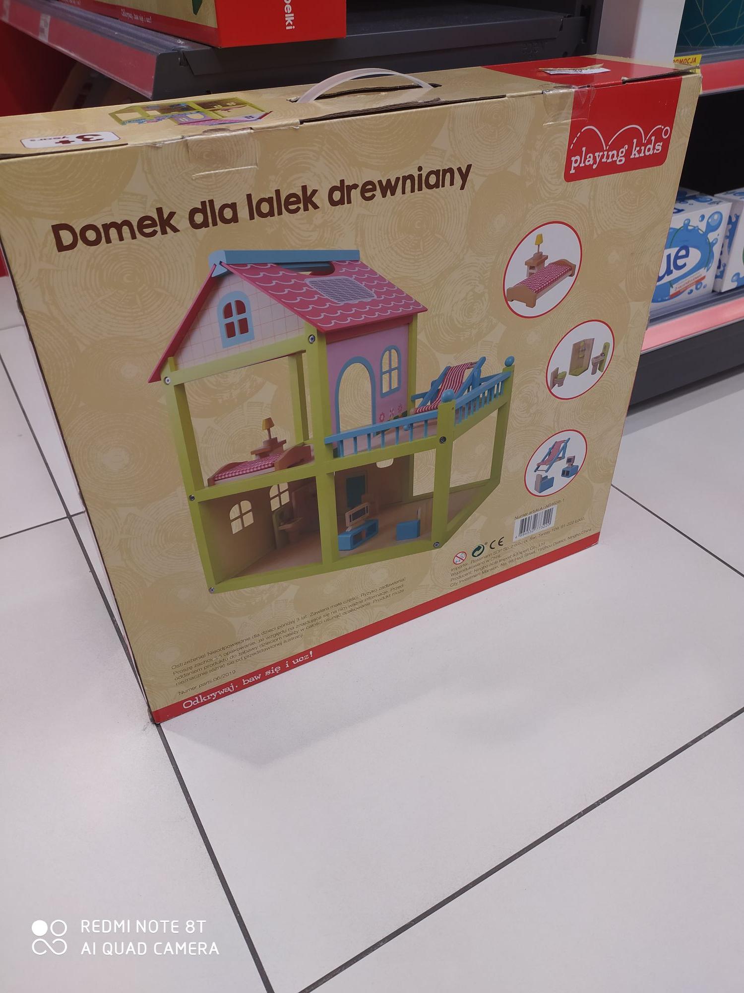 Domek Drewniany Dla Lalek I Inne Drewniane Zabawki Do 80 Rossmann Pepper Pl
