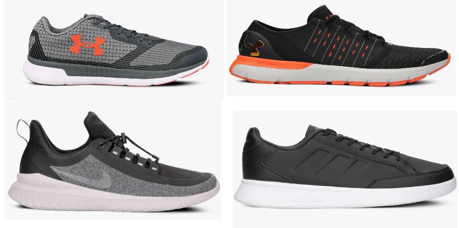 Zestawienie buty sportowe: Adidas, Nike, Under Armour, Puma
