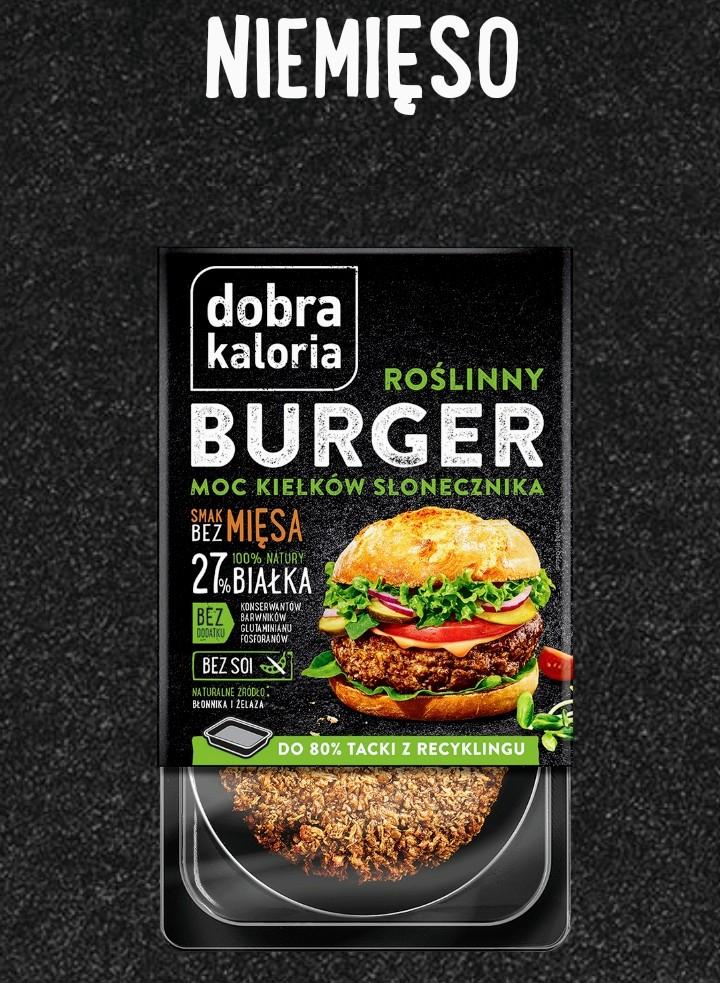 Roślinny Burger Dobra kaloria 170g taniej przy..