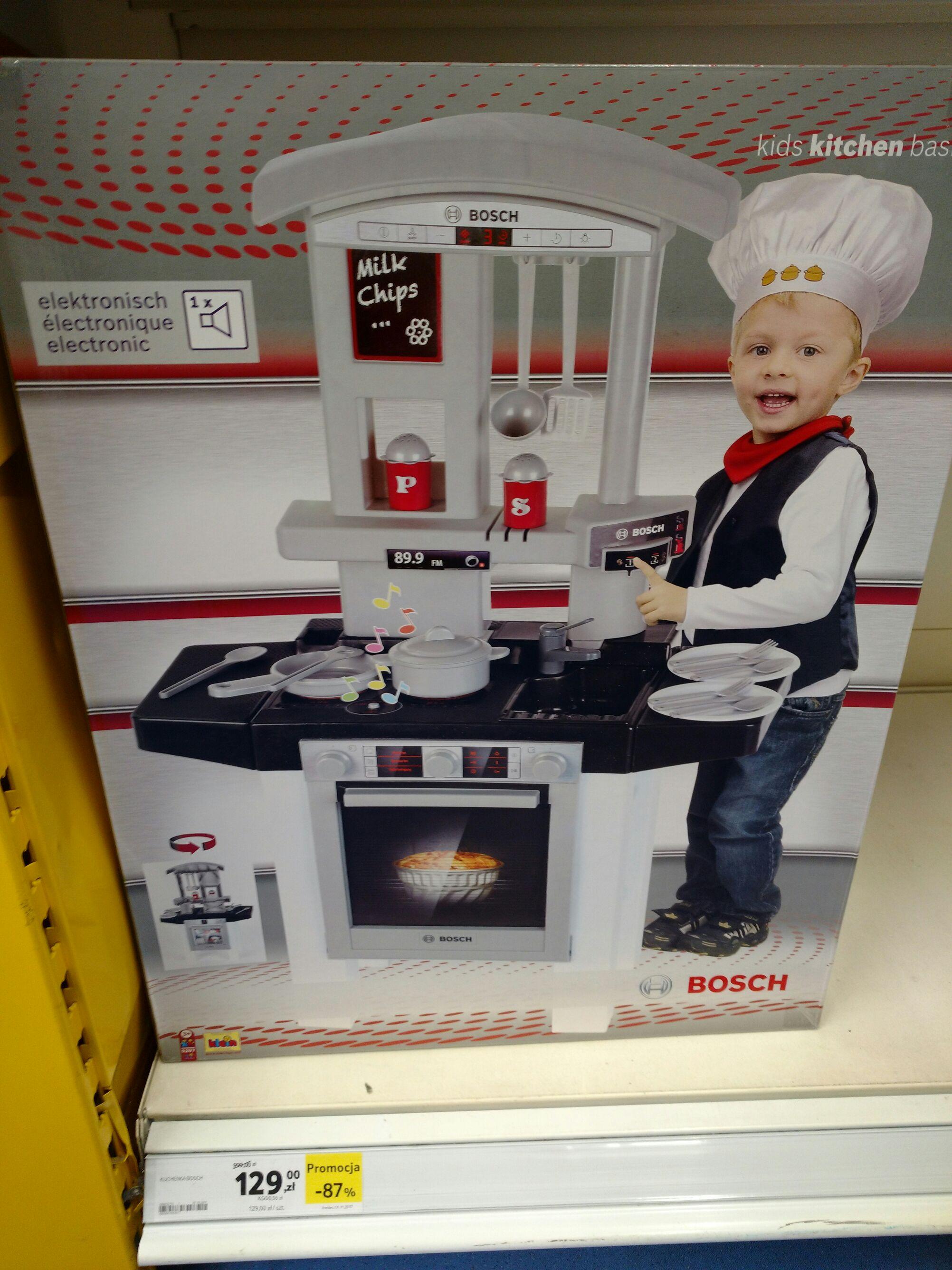 Kuchnia Bosch dla dzieci 87% taniej Tesco  Pepper pl -> Kuchnia Dla Dzieci Bosch Opinie