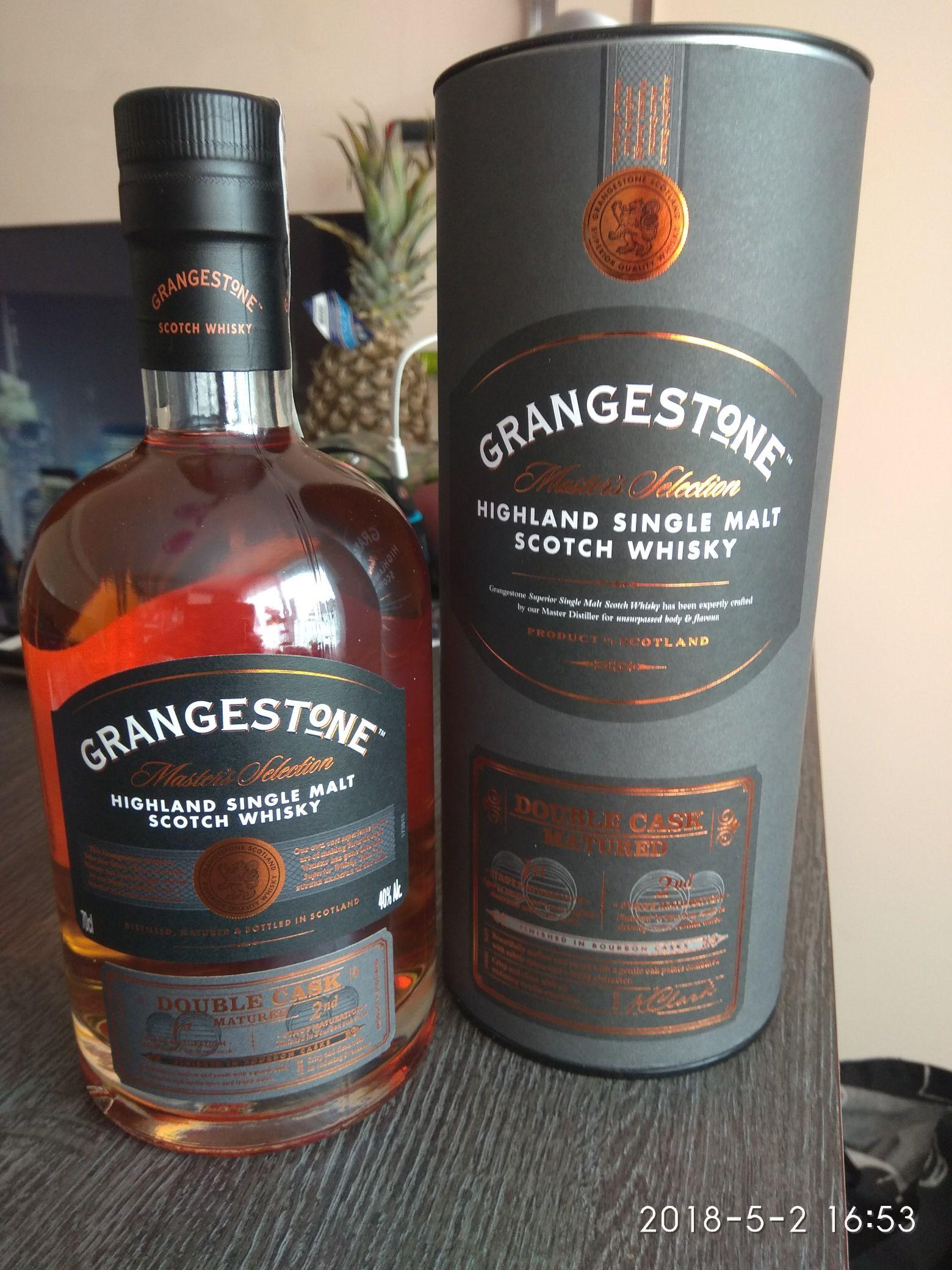 super whisky single malt grangestone 0 7 biedronka pepper pl