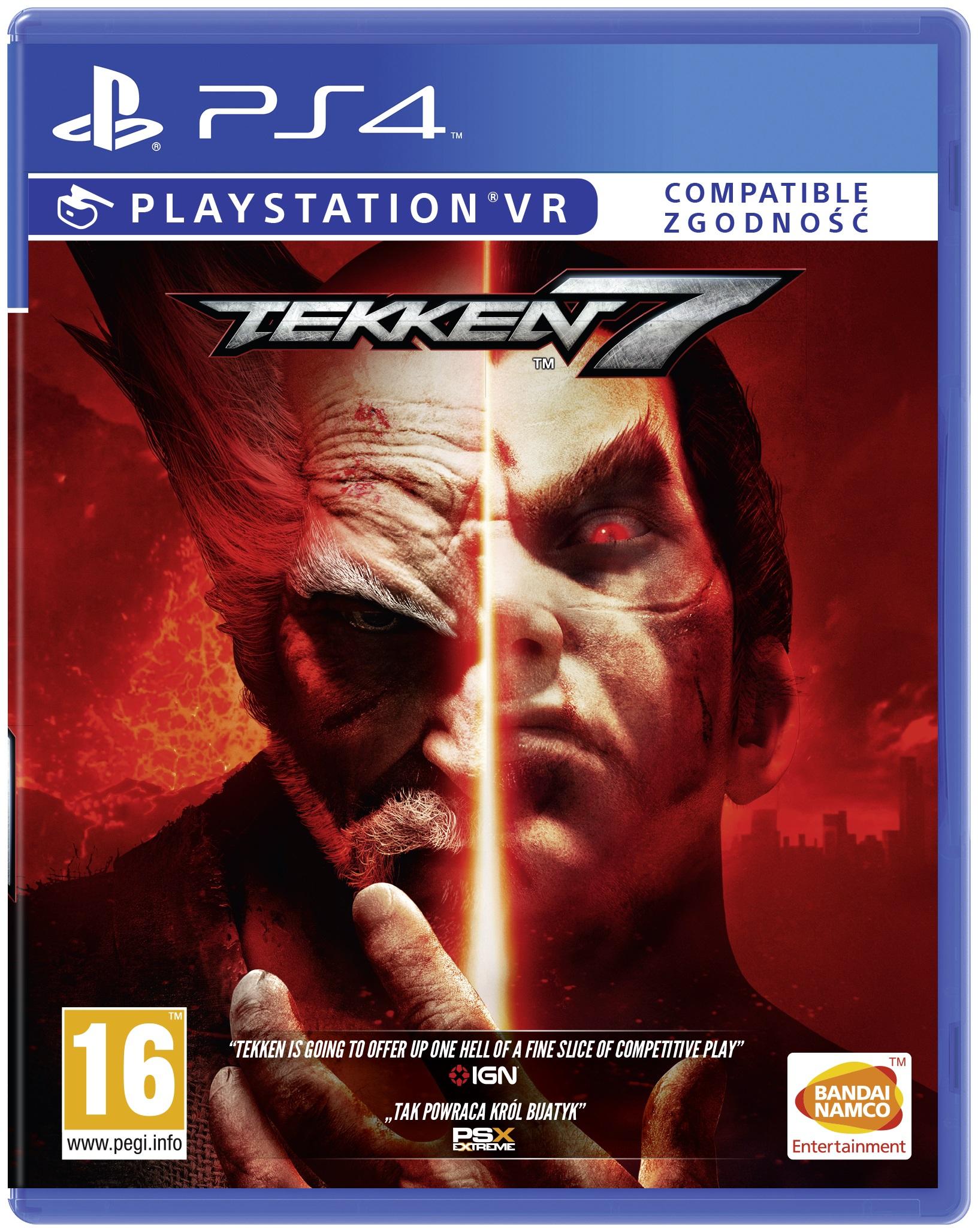 Tekken 7 na PS4 i na xboxa one w merlin.pl