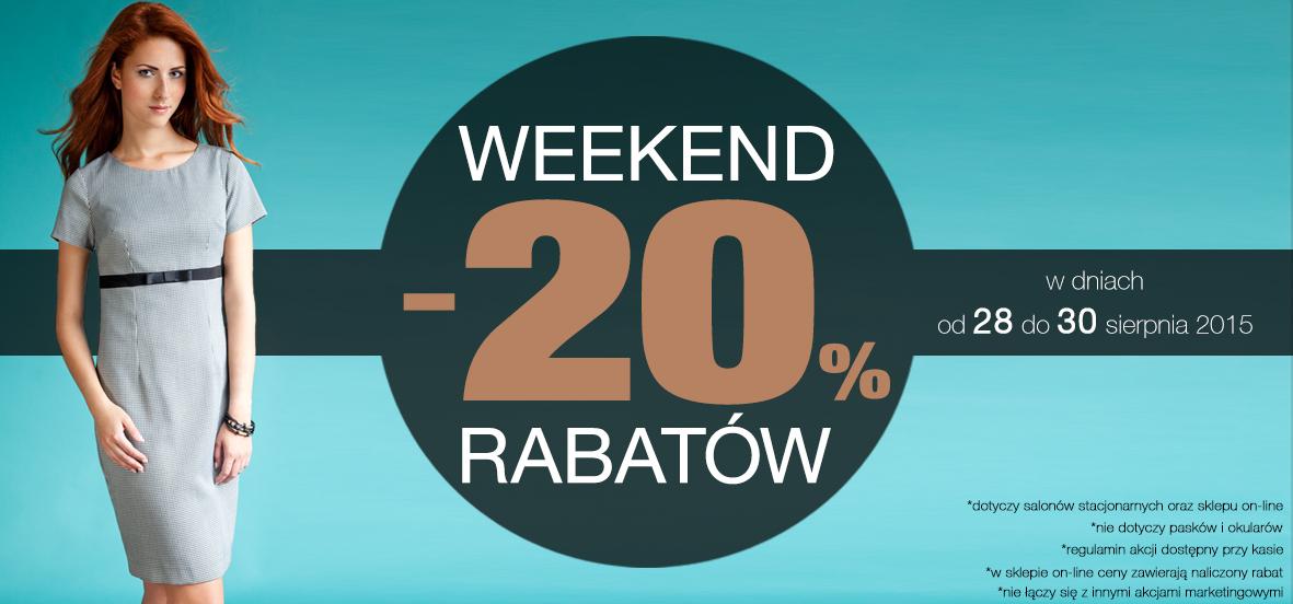 Weekendowy rabat -20% @ Pretty girl