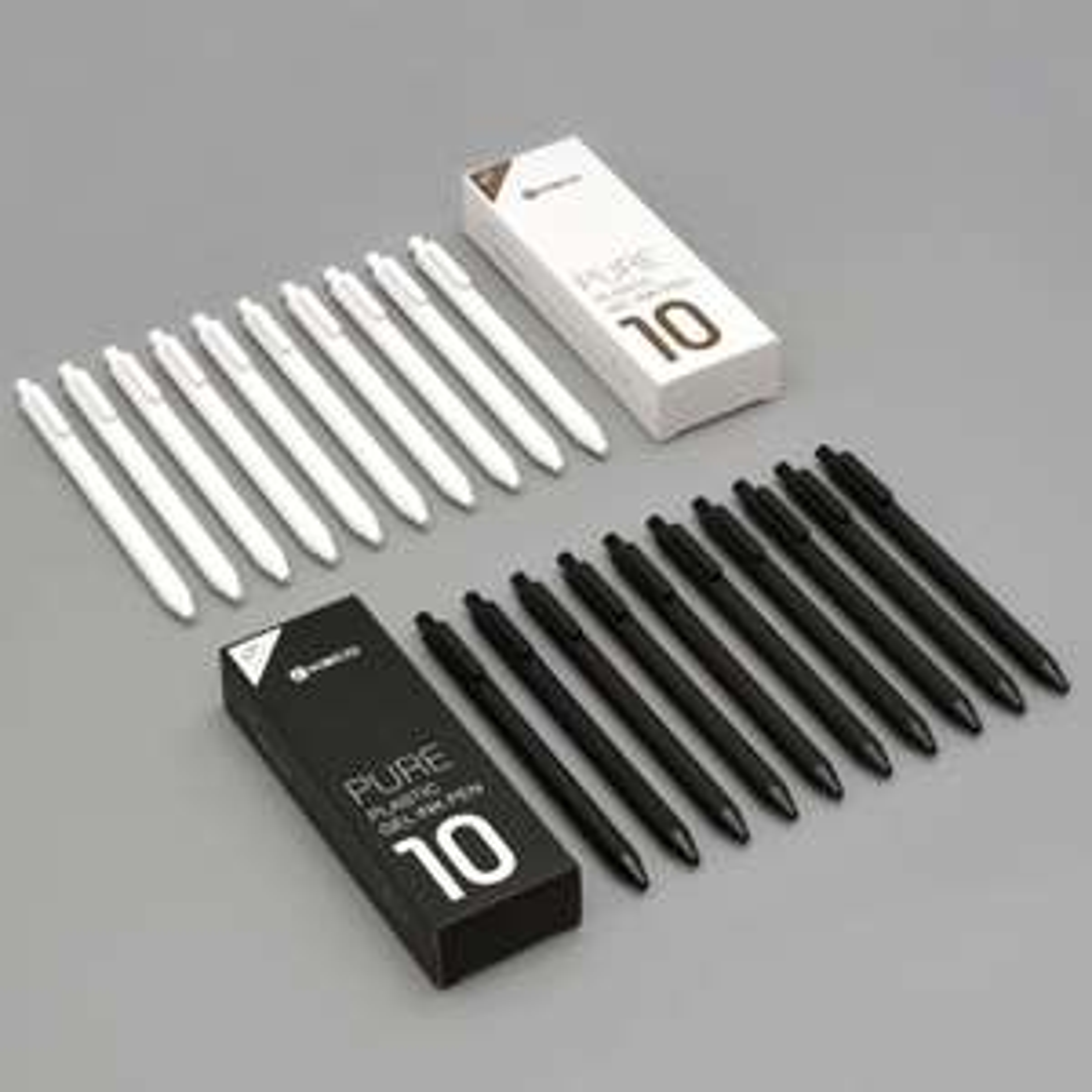 Długopisy Xiaomi Youpin KACO Pure Plastic 10 sztuk.