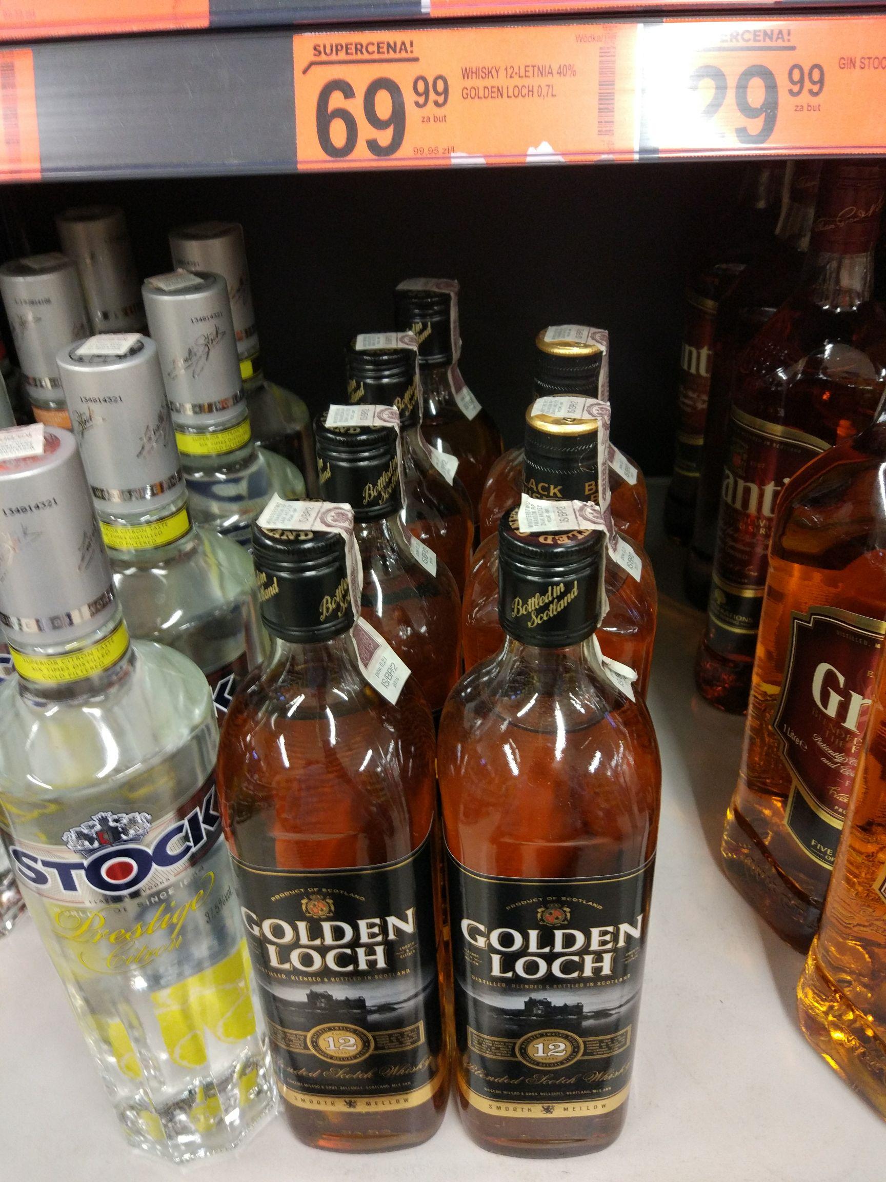 12 letnia whisky Golden Loch