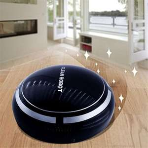 TOMTOP Mini Odkurzacz Robot Vacuum Cleaner Automatic Cleaning Machine Toy.